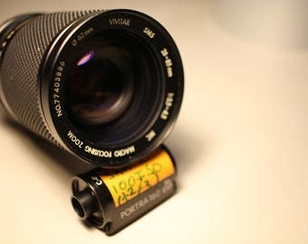 Vivitar Minolta MC 28-85mm f/3.5-4.5 Zoom Lens - Excellent