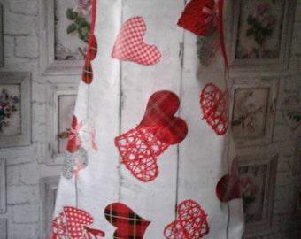 Hearts PVC Apron(Adult)