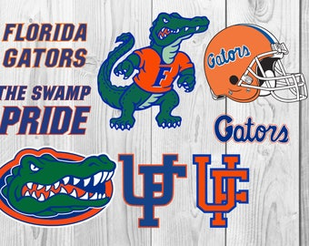 Florida Gators SVG DXF PNG cutting file, Printable, T-shirt Design, Scrapbooking Clipart