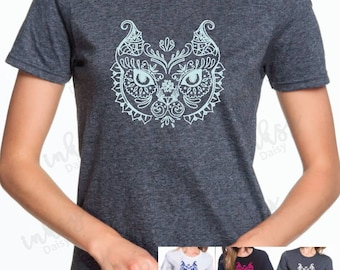 Zentangle Cat Tee- Pick a one of a kind design or semi-design your shirt! Quality, commercial grade materials at a low cost!