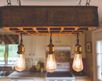 Vintage Chandelier Lighting, Kitchen Lighting Hanging Lamp, Bar Light  Fixture, Ceiling Light,