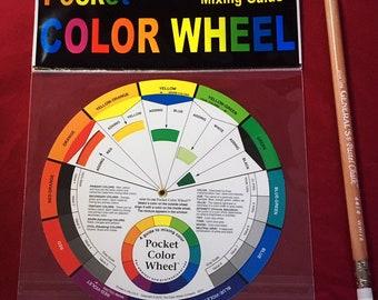Color wheel pocket size
