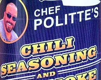 Chef Politte's Chili Seasoning and Dry Smoke Rub