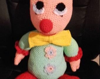 bozo the clown plushie