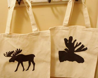 Moose Silhouette bags