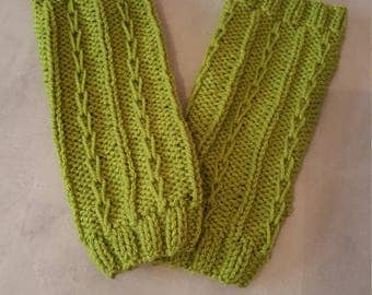 Slipped Rib Leg Warmers