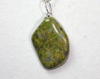 polished Unakite natural stone