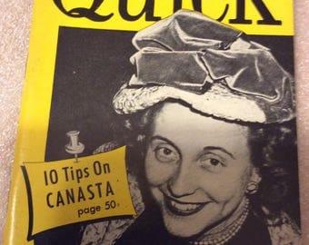 2/27/1950 Quick magazine Margaret Truman