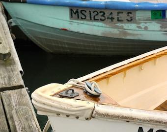 Two Dinghy's in Wellfleet, Harbor Cape Cod