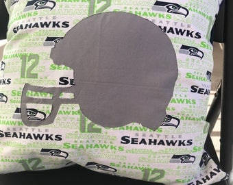 Seattle Seahawks Throw Pillowcase