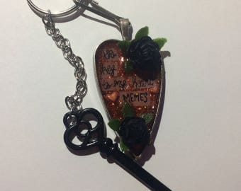 The Key to My Heart - Keychain