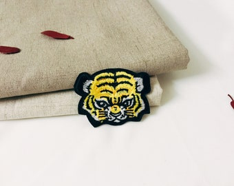 baby tiger patch-animal patch -cute patch -iron on patch -embroidered patch -patch for jacket -DIY