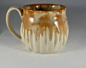 10 oz Handmade Pottery Mug, Clay Mug, Stoneware Mug, Handmade Mug, Pottery Coffee Mug, Handmade Coffee Mug, Coffee Cup, Stoneware Coffee Cup