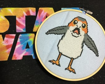 Screaming PORG, Star Wars, Cross Stitch Pattern / PDF cross stitch pattern