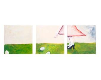 Turnips (Triptych)