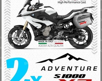 4x S1000XR ADVENTURE Two-colored BMW motorcycle stickers Adhesives Pegatina Autoglue
