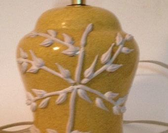 Mid century lamp ceramic