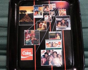 Vintage 1886-1986 Coca Cola Coke tray -