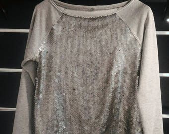 SHINNING SWEATSHIRT (chic sweatshirt with glitter)