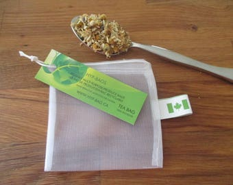 REUSABLE TEA, mulling, or pickling spice bags