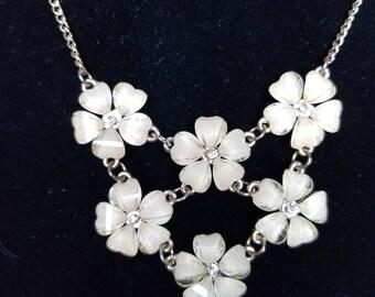 Gold Hawaiian Flower Necklace