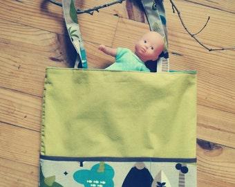 Kids Tote Bag nursery/nanny