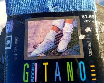 1980s Gitano Slouch Socks