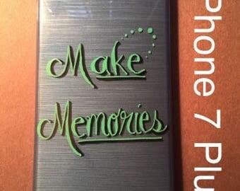 Personalized Phone Case - Make Memories