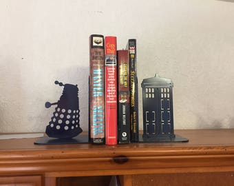 Dr Who Book ends, Pair
