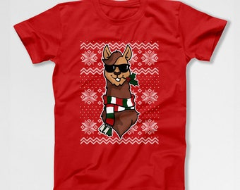 Ugly Christmas Shirt Funny Xmas Gifts Holiday Present For Him Christmas Outfit Xmas Clothing Holiday Clothes Ugly Xmas T Shirt TEP-536