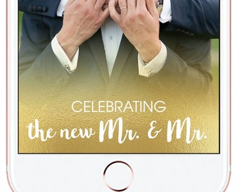 Wedding Snapchat Geofilter *for immediate download - not personalized* #1