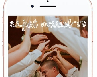 Wedding Snapchat Geofilter *for immediate download - not personalized* #7