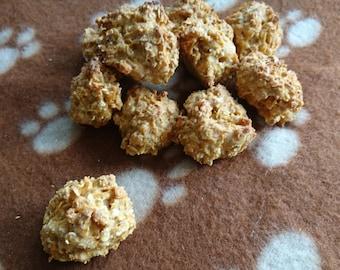 K9 Apple and Carrot Bites - Handmade dog treats (pk10)