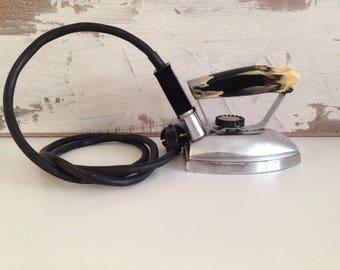 Small electric iron - Vintage Electric Iron - Mini Iron - Small electric travel iron - Vintage electric  iron - Retro Iron