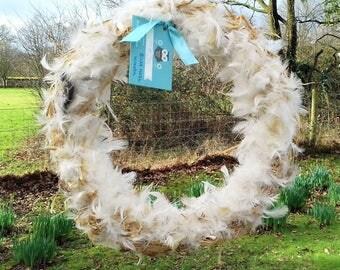 Easter decorations etsy uk easter wreath bird nest wreath easter decorations easter gift gift for women negle Gallery
