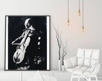 Print 5 : le violoncelliste