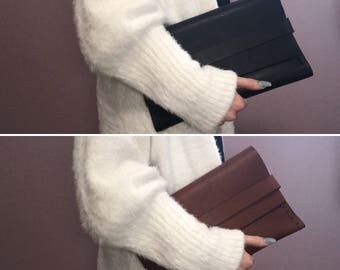 Classic Leather Clutch