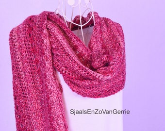 Scarf Pink/Red