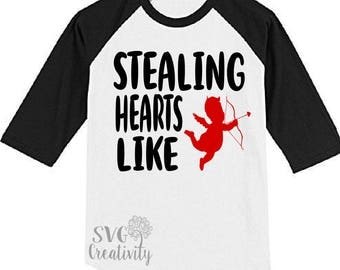 Stealing Hearts Like Cupid SVG, Stealing Hearts SVG, Cupid SVG
