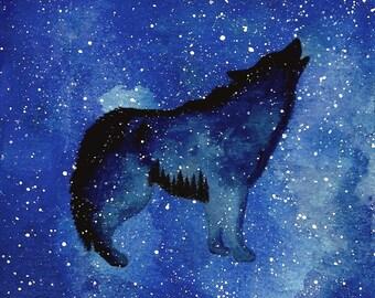 Spirit Wolf Constellation