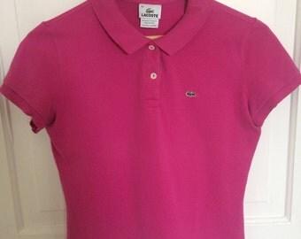 Lacoste Women's Polo t-shirt, Size 44