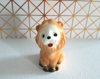 Vintage Lion Figurine Collectible Knick Knack