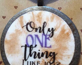 Only ONE thing - Handmade Christian Inspirational Necklace