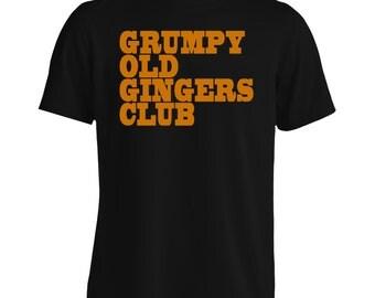 GRUMPY Old GINGERS CLUB Men's T-Shirt f41m