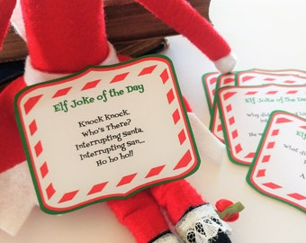 12 Printable Elf Jokes of the Day