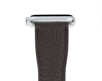 Leather Apple Watch Band, 42mm, 38mm, Brown Replacement iWatch Band, Apple Watch Strap for Series 1, 2, 3, Apple Watch Customize Cuff, WR