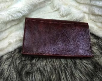 Personalized Leather Wallet - Real Leather -  Leather -  Wallet for Women -  - Leather Wallet - Gift Idea