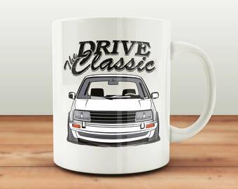 VW Jetta 2 Tasse