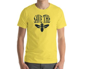 Bring Back The Bees, Save The Bees Unisex T-Shirt, Save The Bees Shirt, Love for the bees, Environmental T-shirt, Save The Bees Cause
