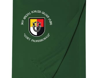 3rd Special Forces Group Embroidered Blanket-3677